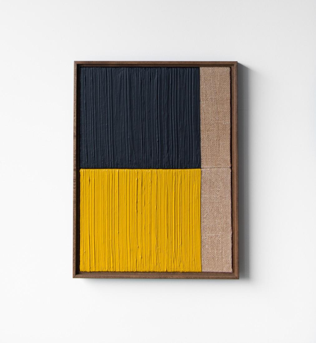 3 Johnny Abrahams YellowBlack 13x17 inches incl frame
