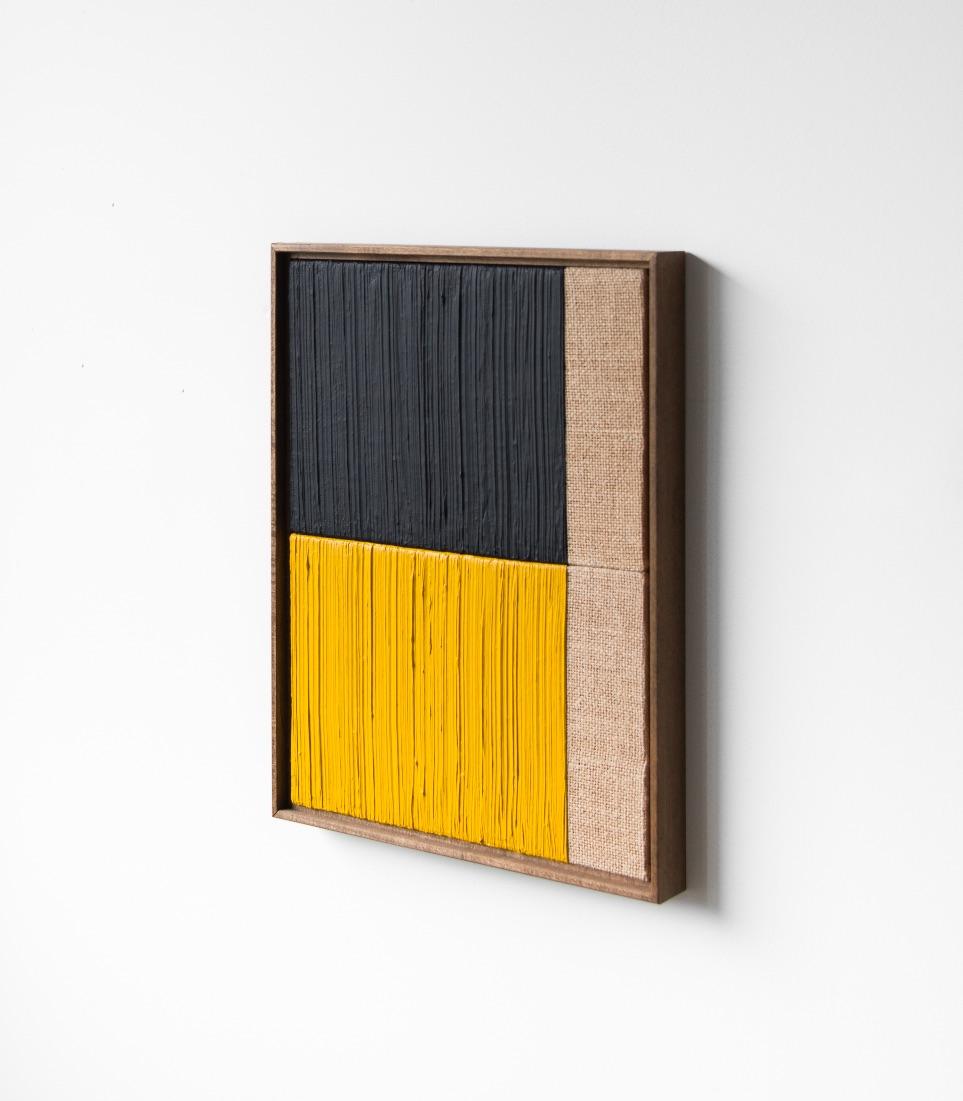4 Johnny Abrahams YellowBlack 13x17 inches incl frame