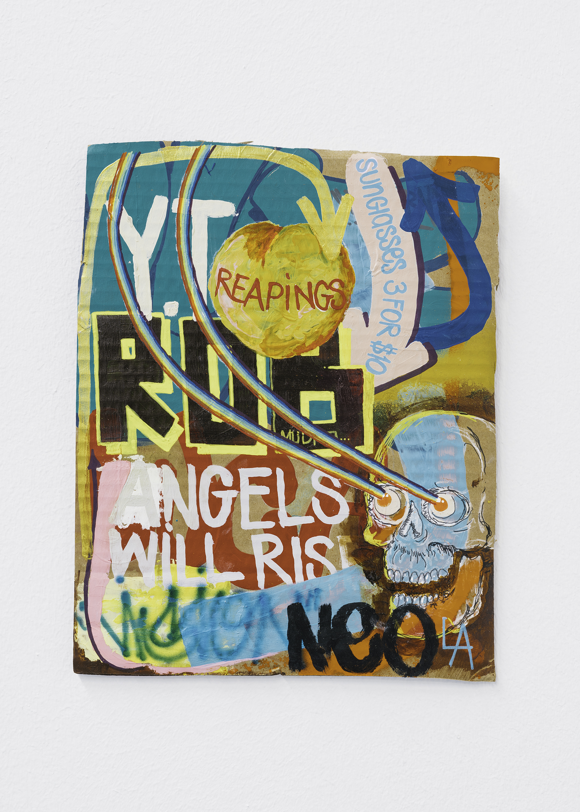 "4 Jayme Burtis - ""Angels will Rise"" 2020 - 29.84X23.81 cm."