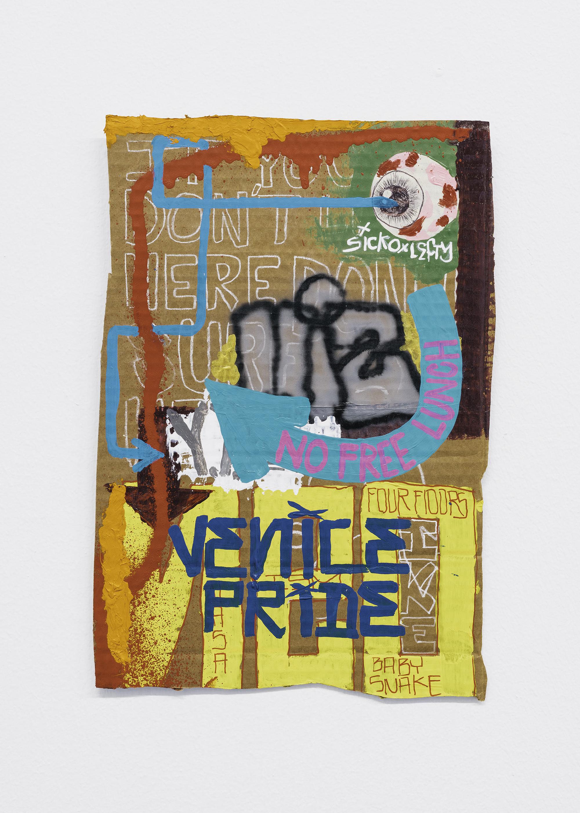 "5 Jayme Burtis - ""No free lunch"" 2020. - 30.48 cm. X 20.32 cm"