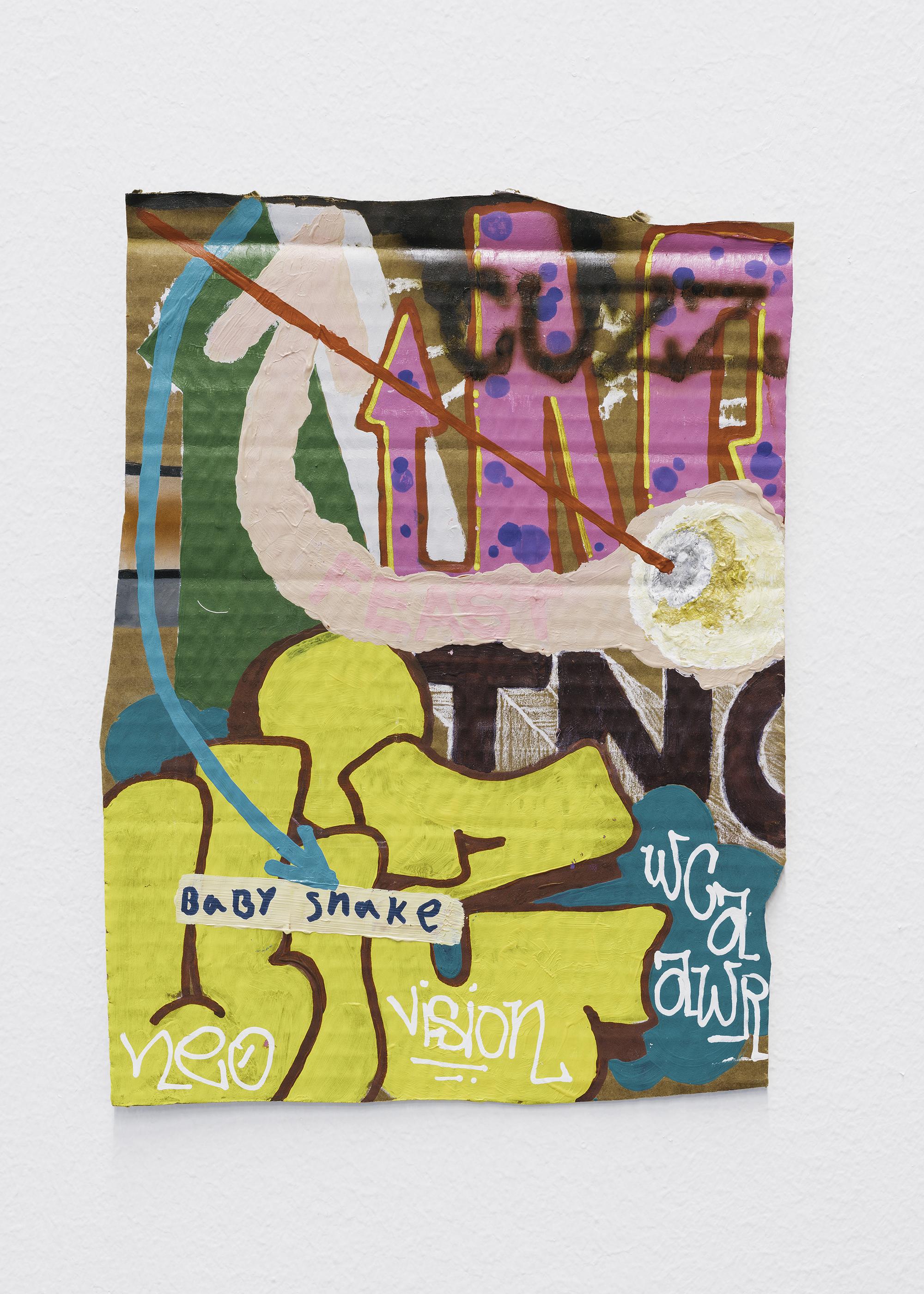 """6 Jayme Burtis - """"Feast"""" 2020. - 26.67 cm. X 20.32 cm"""