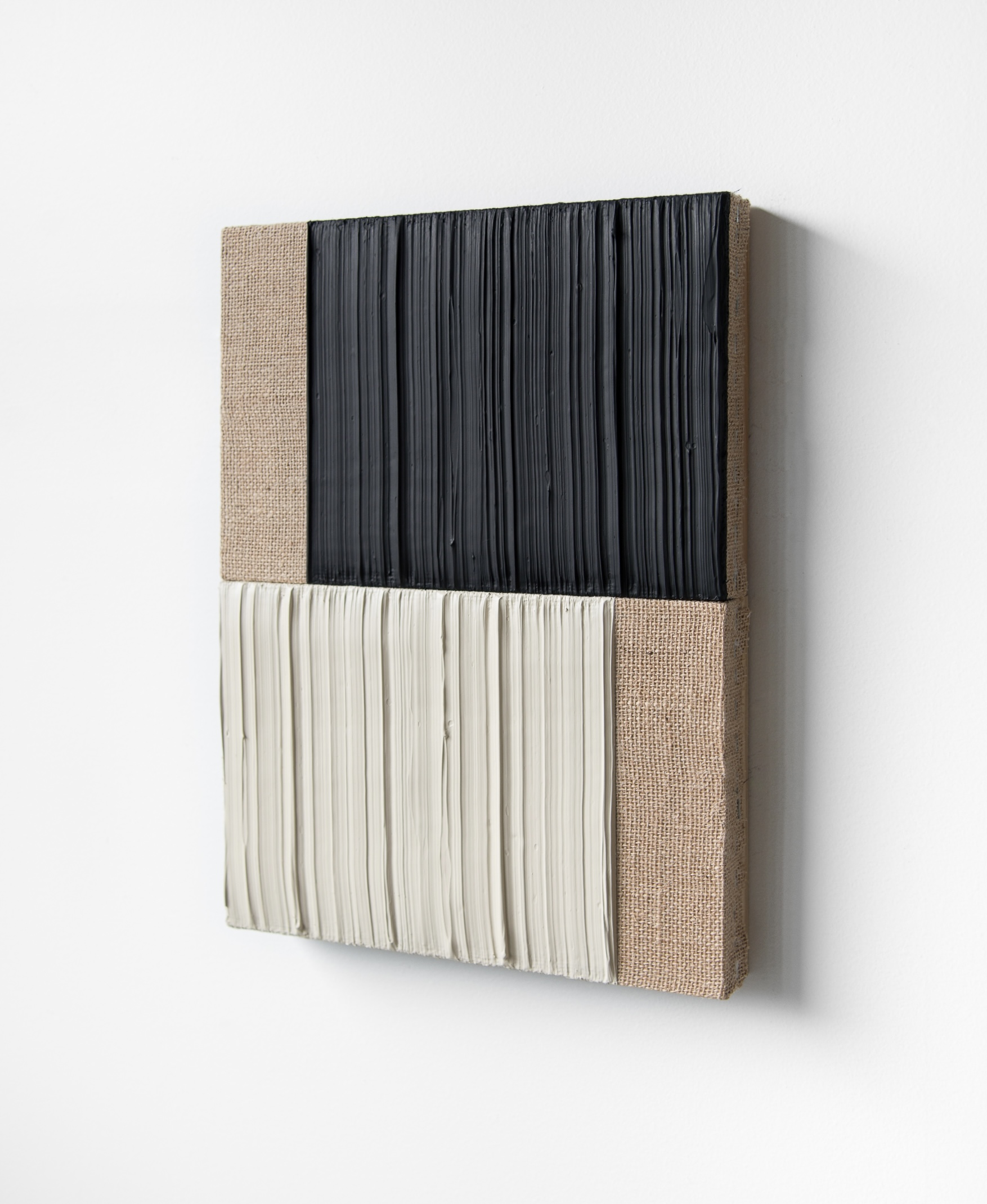 4 Johnny Abrahams Black - White - 12x16inch - 2021