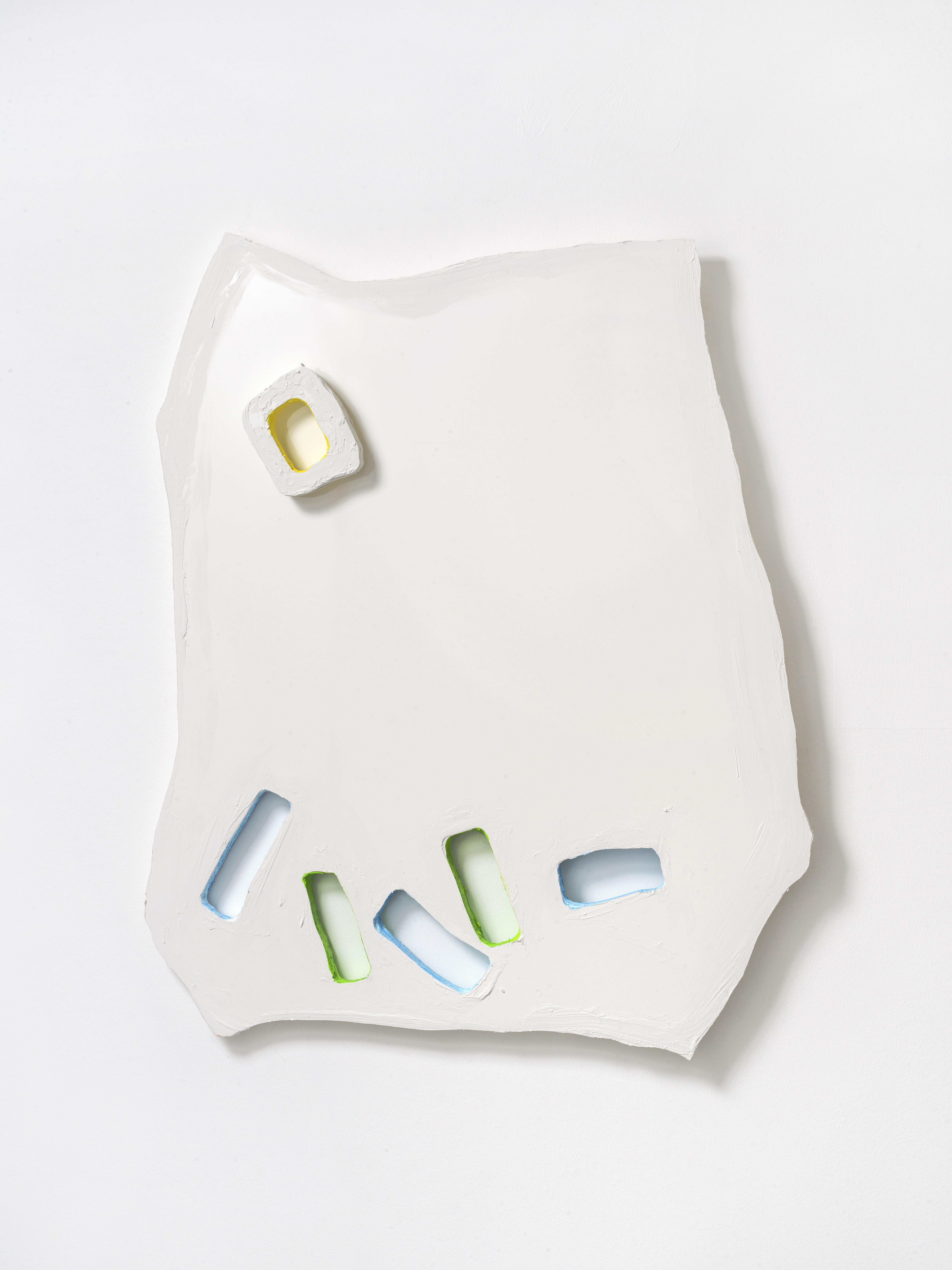 1. Adrian Altintas - AAD021 - 2021 - Untitled 101,5 x 118,5 x 6,5 cm. - Sandwichpanel, Acryl.
