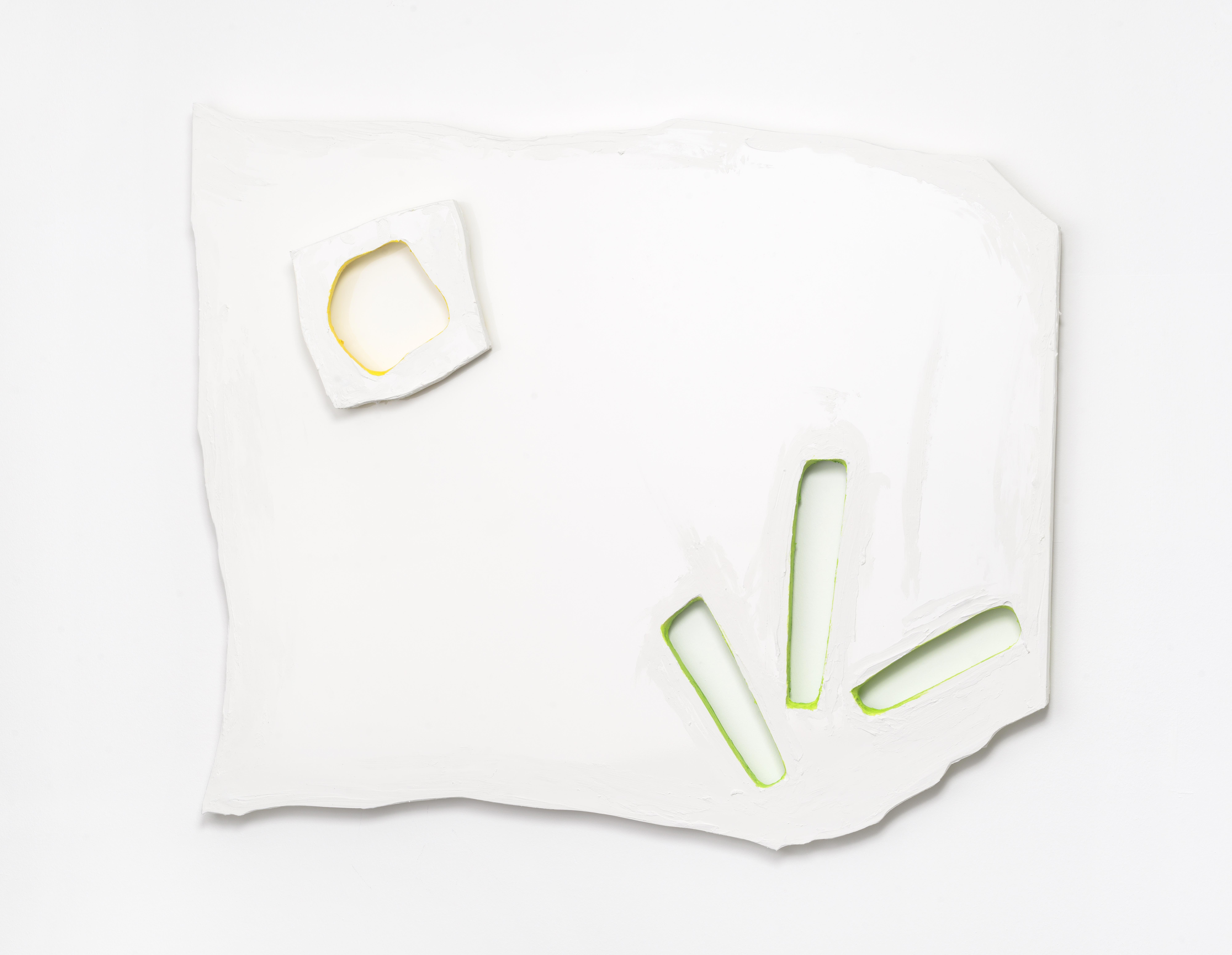 5. Adrian Altintas - AAD025 - 2021 - Untitled 118,8 x 95,5 x 6,5 cm. - Sandwichpanel, Acryl.
